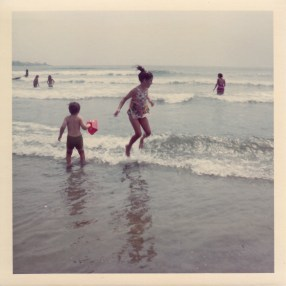 A happy childhood at the beach, dreaming of all things colonial.