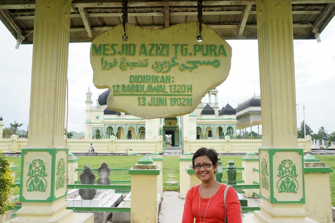 Jalan-jalan ke Tanjung Pura Langkat  Mollyta Mochtar