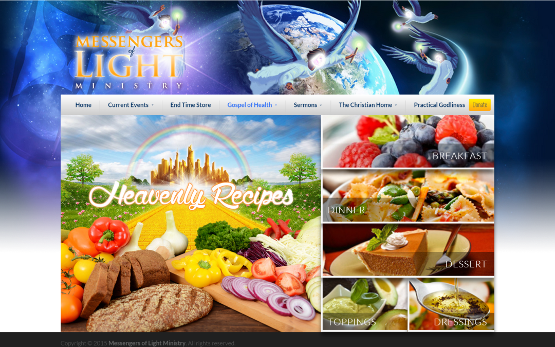 Heavenly Recipes now Ready for your Kitchen!