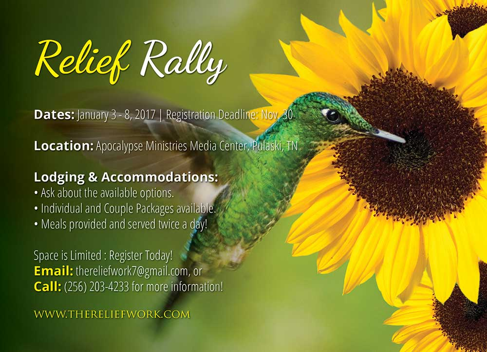 TRW Relief Rally Flyer-02 Post
