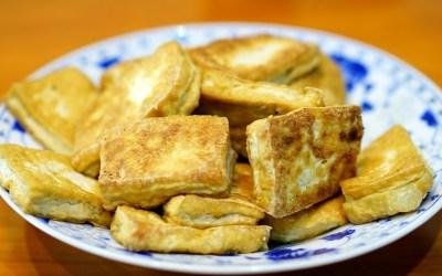 Grilled Breaded Tofu Steaks