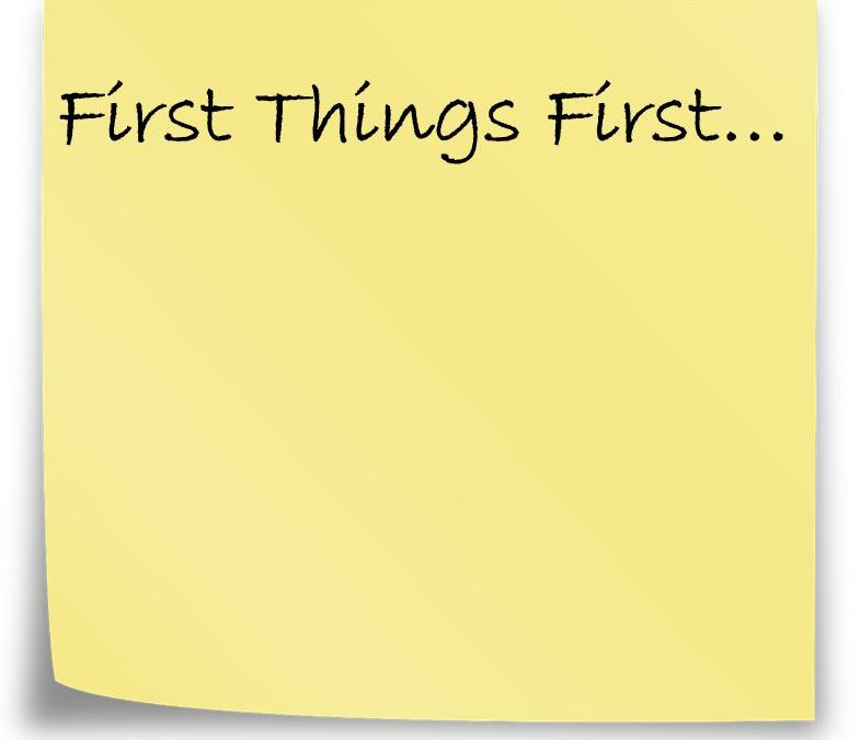 Inspired Quote of the Day: Seek Ye First