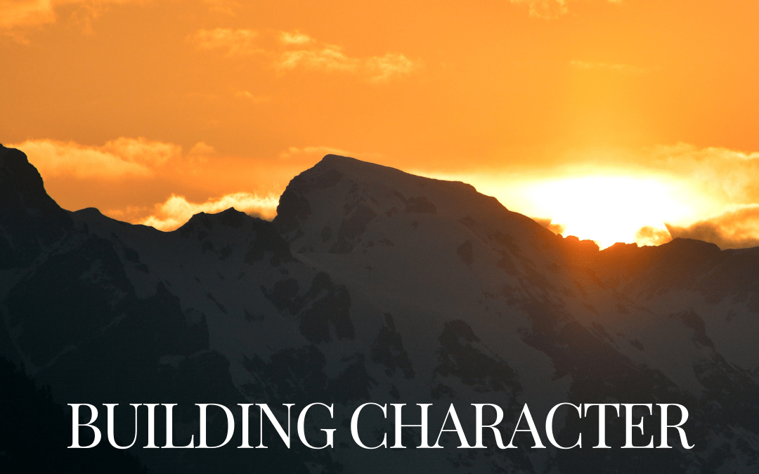 Building Character for Eternity   MYP
