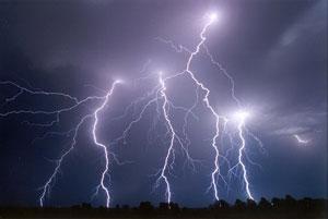 viziune asemănătoare fulgerului