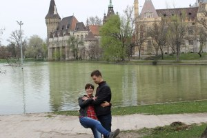 Будапешт - Пруд у королевского замка