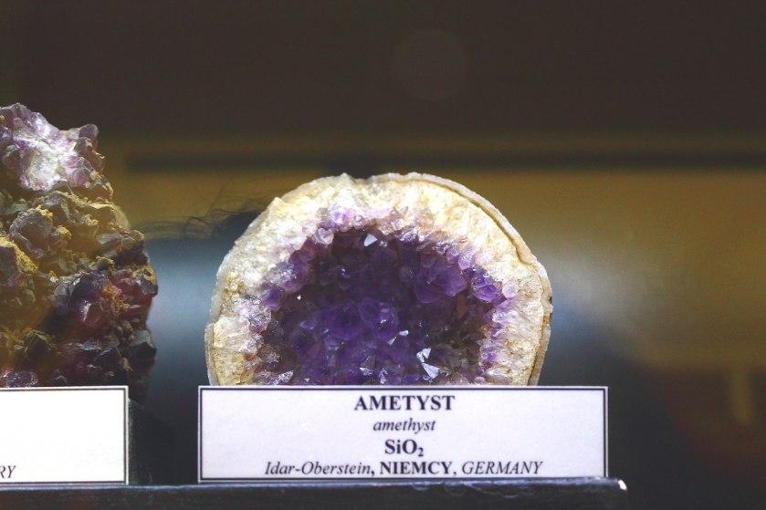 Музей минералов - Аметист внутри кокоса
