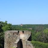 Вид на замок Швины (Свинки)