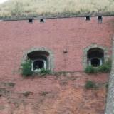 Крепость Клодзко - Пушки в стене