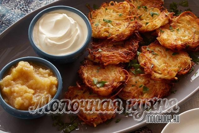 来自磨碎的土豆的德拉尼亚人经典食谱