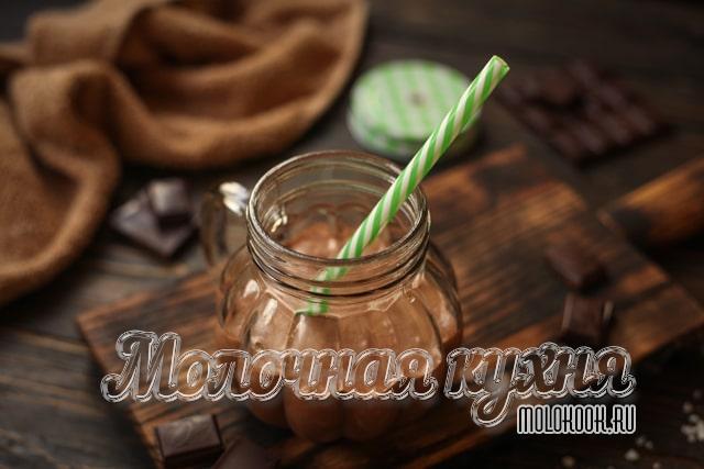 Koktel Chocolate, Susu dan Chocolate Ais Krim