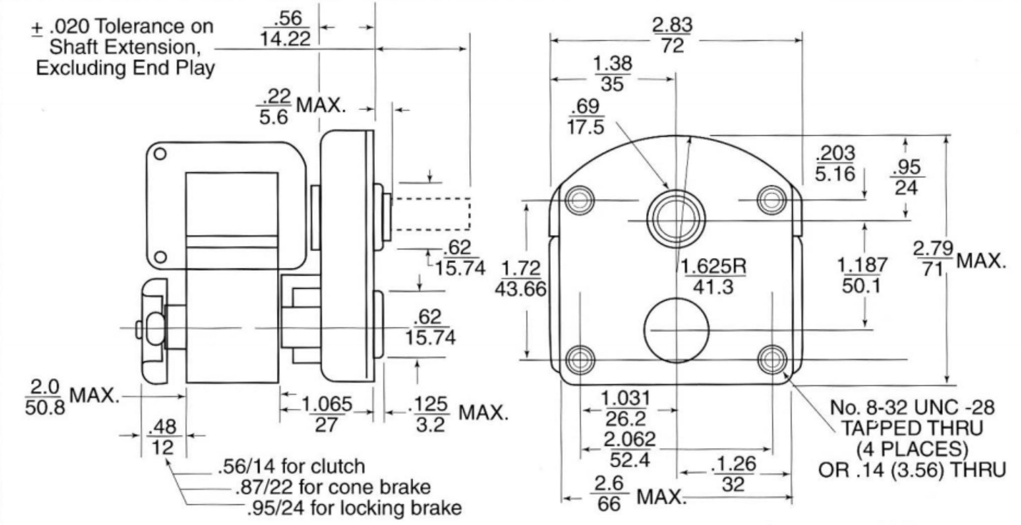 Ac Shaded Pole Motors Gearmotors Zrm