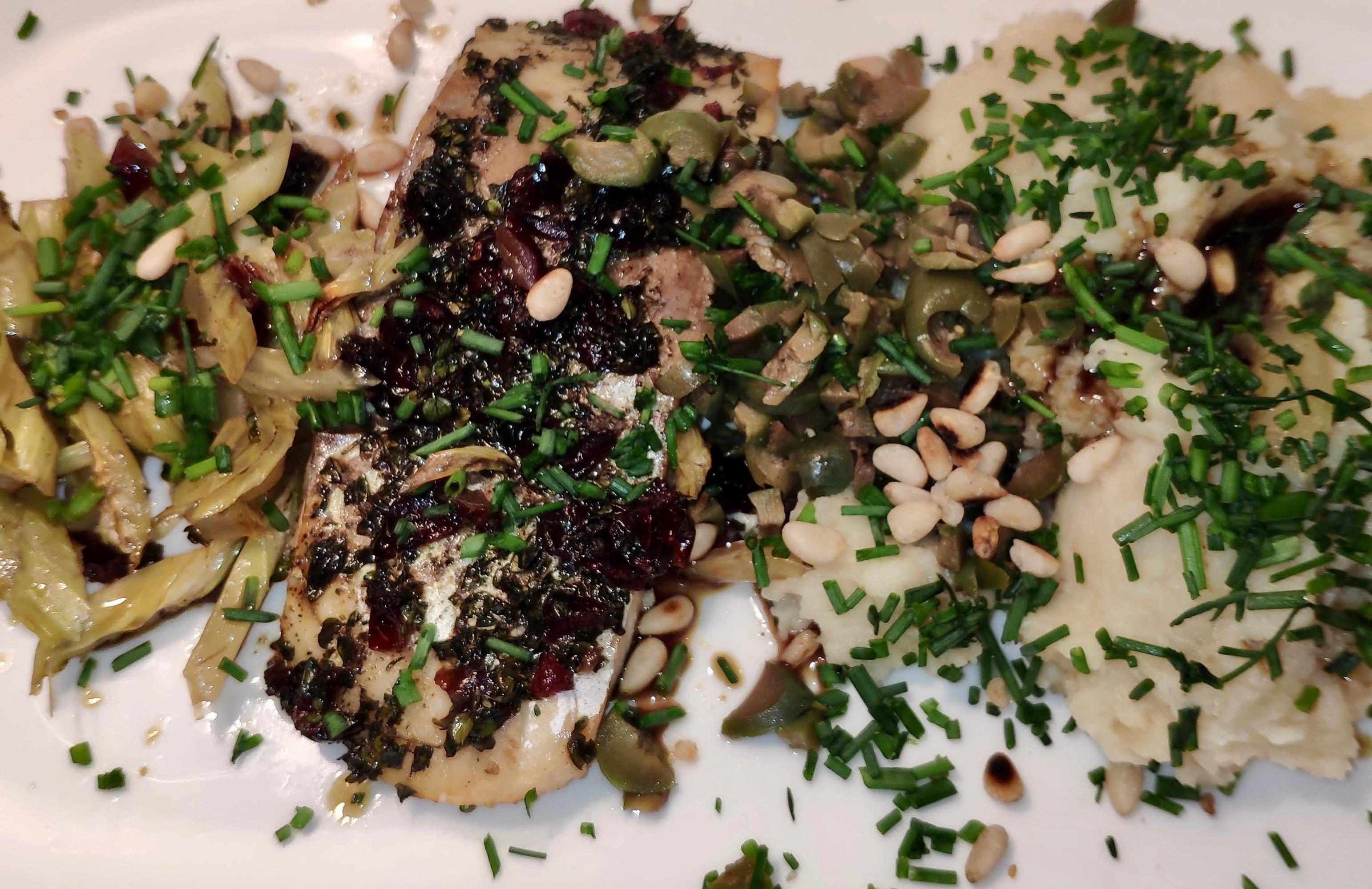 Sellerie der Lustmacher—zusammen mit Seelachs Gesund & Lecker