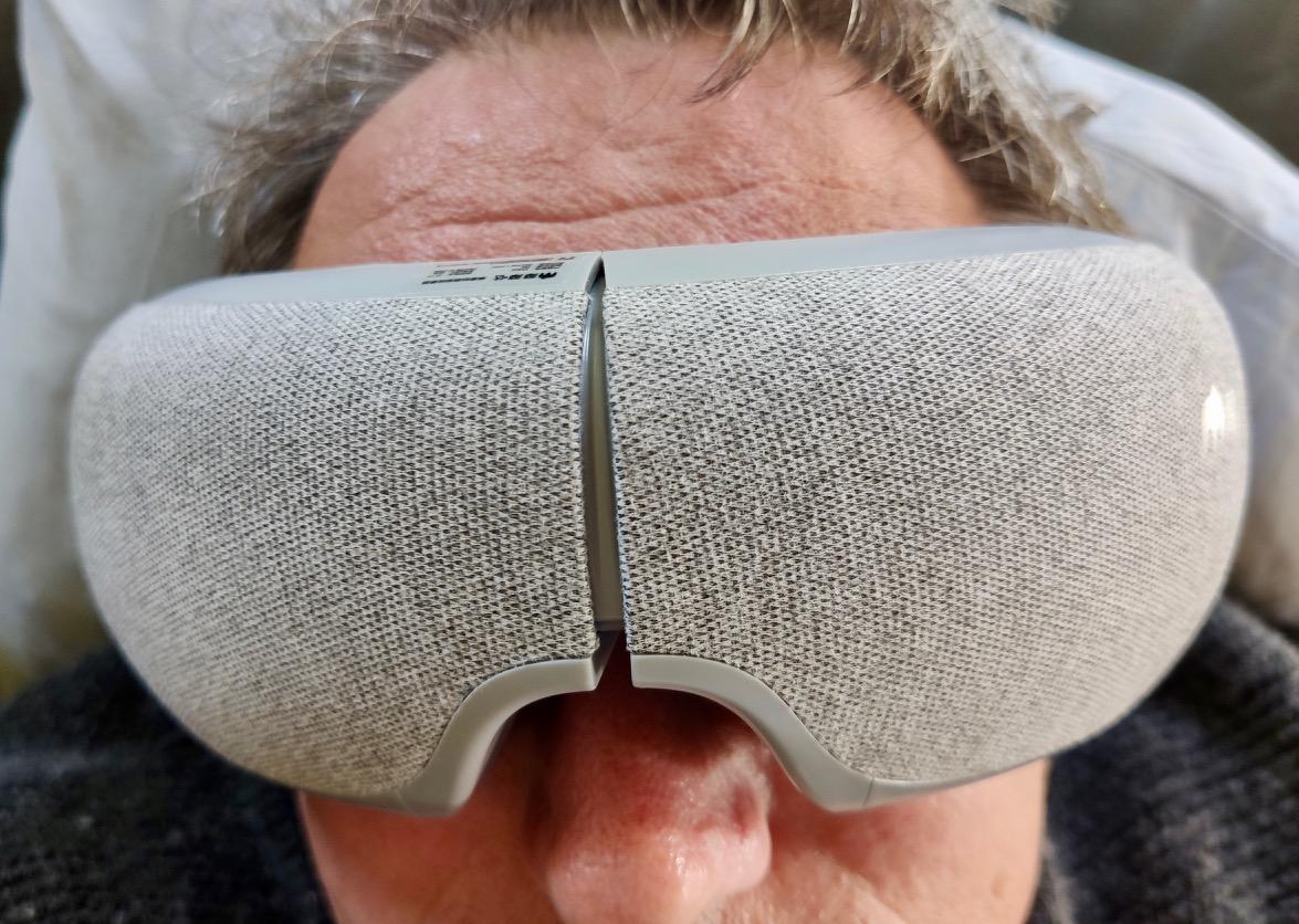 Power Nap mit Augenmeridian-Massage und heißer Kompresse