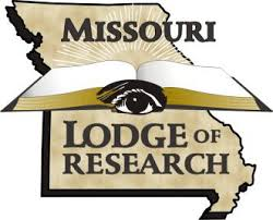 The official logo of the Missouri Lodge of Research