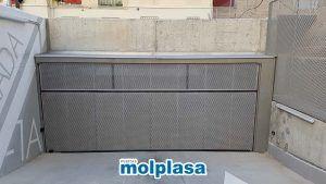 puerta metalica de garaje