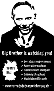 Schäuble - Big Brother