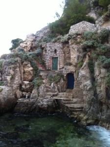 Seaside doors in Dubrovnik