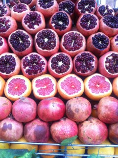 Fruit, ready for juicing