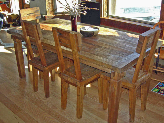 Luxury Farmhouse Tables With Simple Design For Diningroom