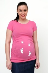 Hands and Feet Maternity T-shirt
