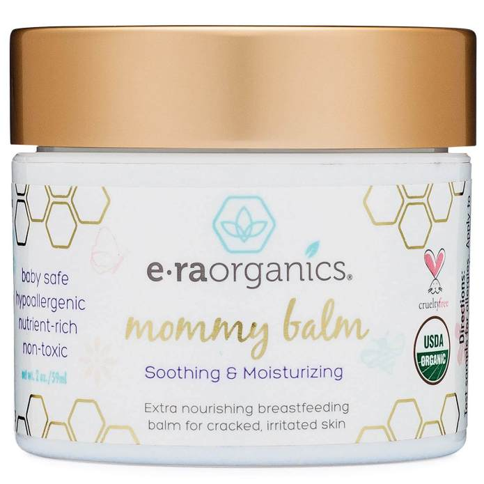 E-ra organics mommy balm nipple cream