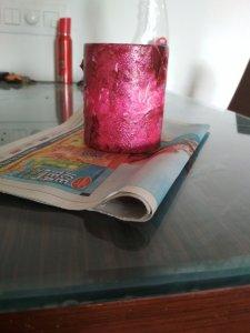 decorated mug nail paint