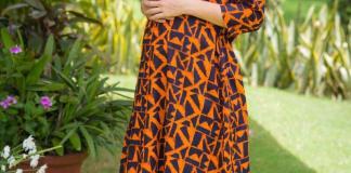 Amber front zip cotton nursing kurta