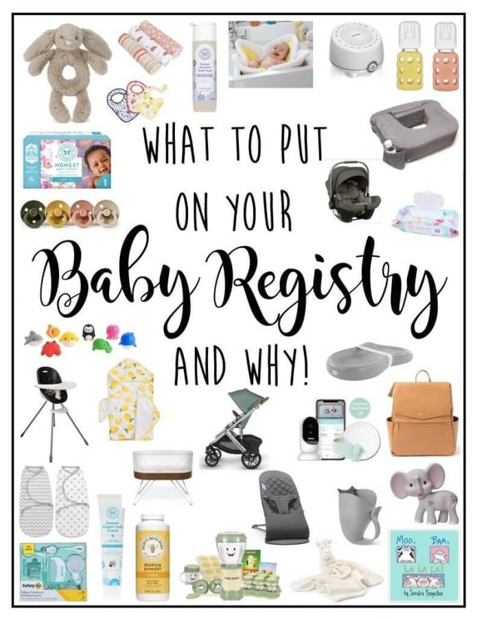 Baby registry: The baby registry must-have