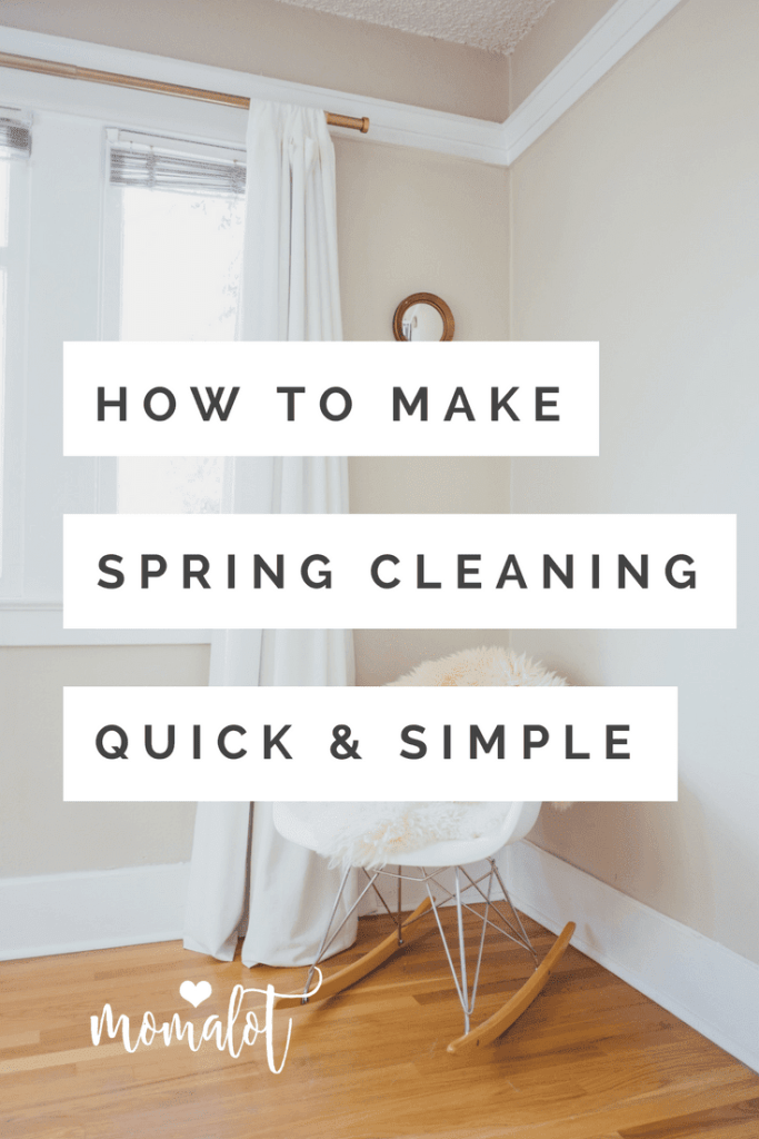 Quick & Painless Spring Cleaning, Free Room-by-Room Guide