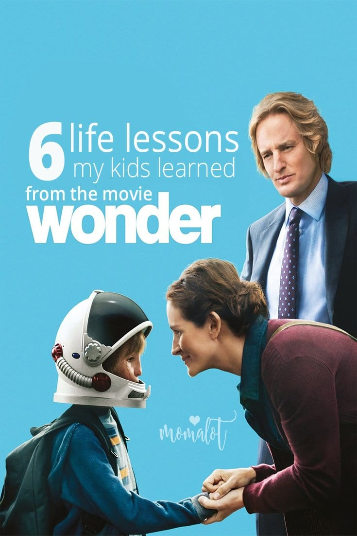 6 lessons my kid learned from the movie wonder