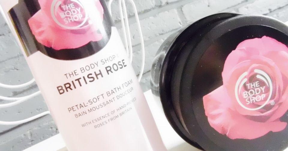 British Rose Exfoliating Gel Body Scrub