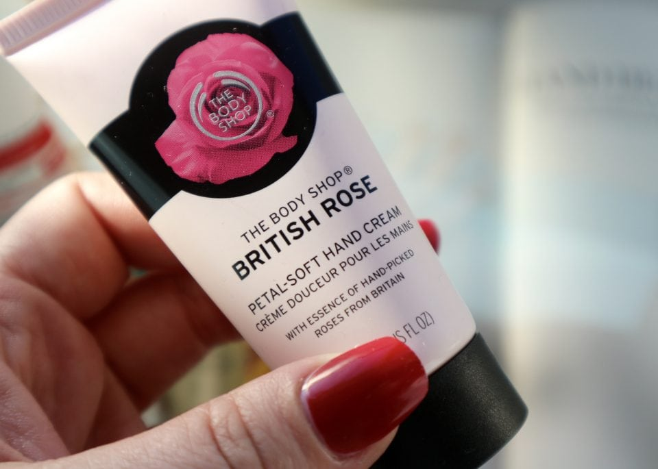 Handcreme Test lush, the body shop jane iredale oliveway extenso