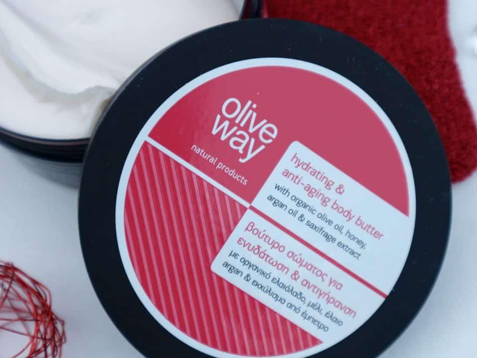 Oliveway Hydraterende en anti-aging bodybutter