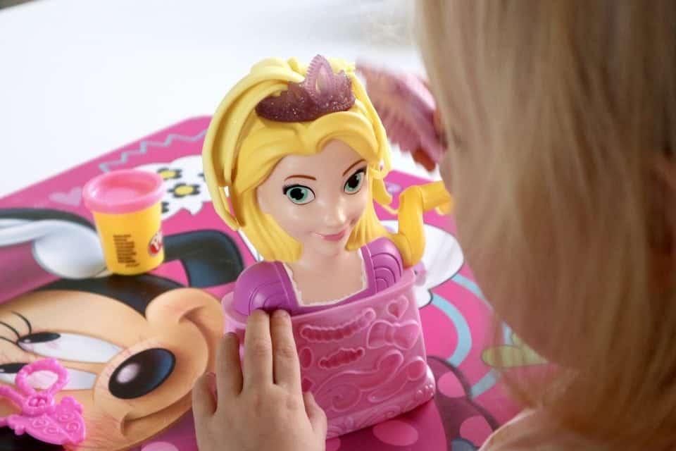 Rapunzels Kapsalon van Play-Doh
