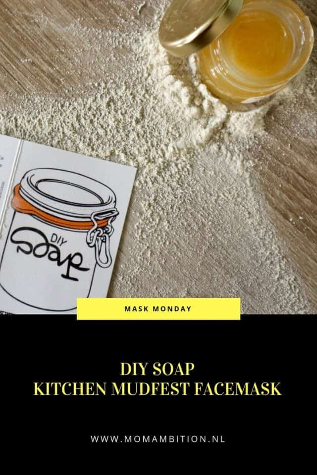 DIY SOAP KITCHEN MUDFEST FACEMASK REVIEW mask monday momambition