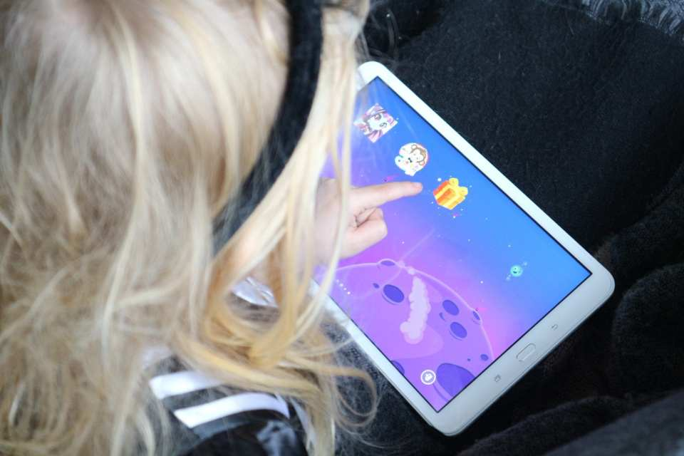 3x hoera voor de Samsung Galaxy Tab A met Kids mode Momambition.nl