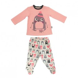 ensemble-bebe-fille-t-shirt-pantalon-artic-bird