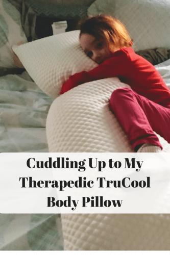 my therapedic trucool body pillow