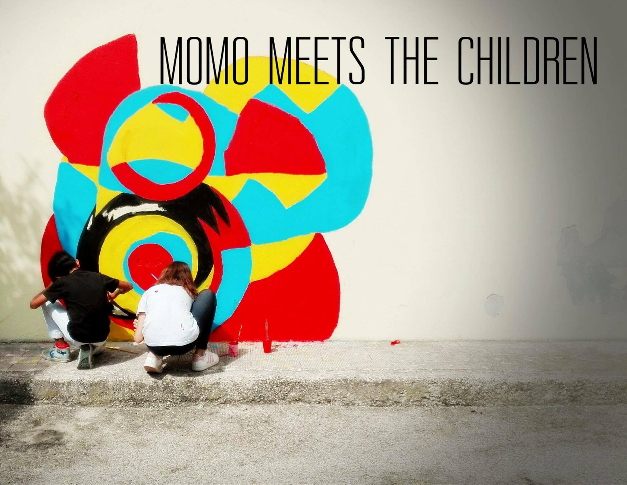 You are currently viewing MOMO MEETS THE CHILDREN