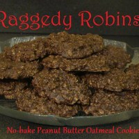 Raggedy Robins (No-bake Cookies)