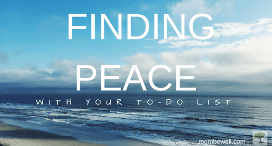 Finding Peace with Your To-Do List