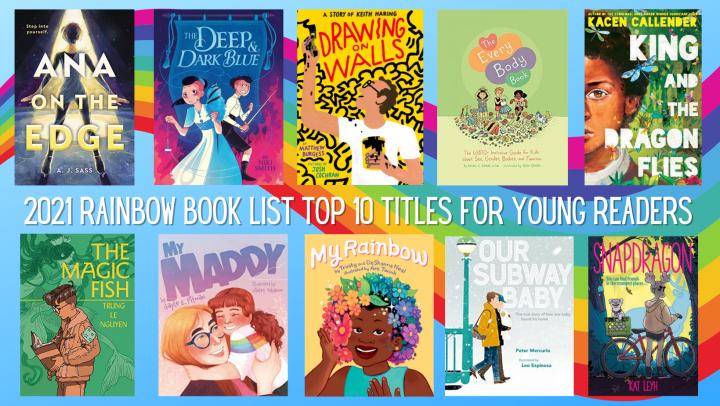 Rainbow Book List Young Readers Top 10 - 2021