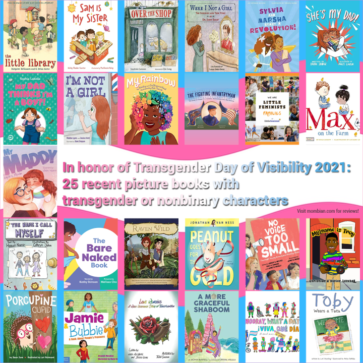 Picture books with transgender and/or nonbinary characters