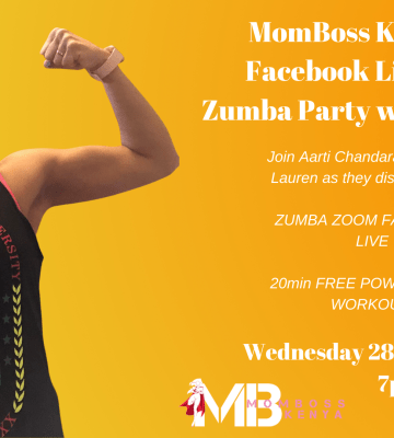 ZUMBA PARTY WITH AARTI MOMBOSS FACEBOOK LIVE