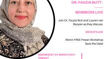 DR. FAUZIA BUTT  MOMBOSS FACEBOOK LIVE