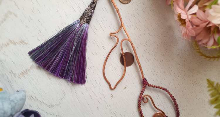 DELICATE HANDCRAFTED WIREWORK BOOKMARKS