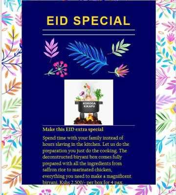 Eid Biryani Box Special
