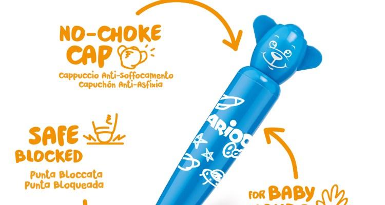Carioca Teddy Bear Markers – Box of 6