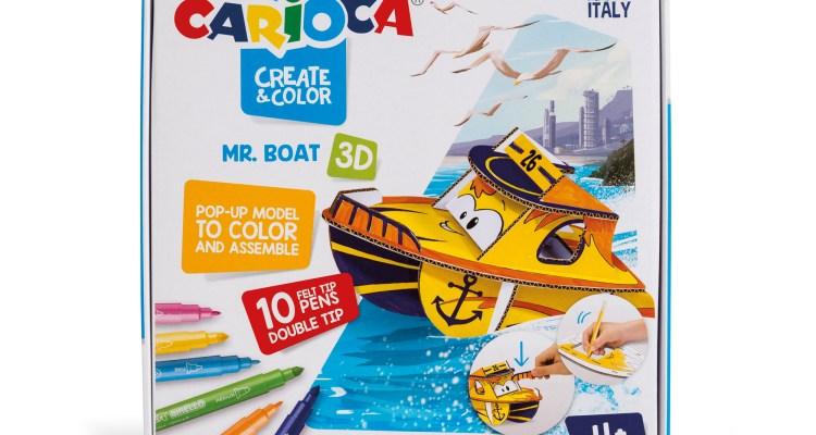 Carioca – Create & Color – Mr Boat / Miss Wild / Jet Junior