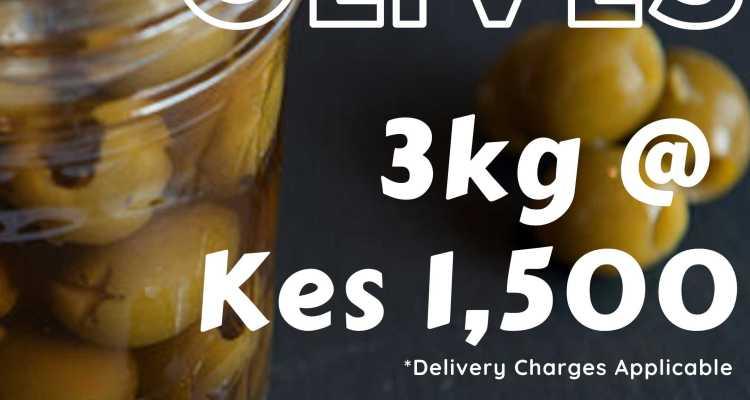 Olives 3kg
